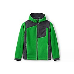 Lands' End - Boys' green bonded fleece jacket