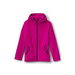 Lands' End - Girls' pink softest fleece jacket