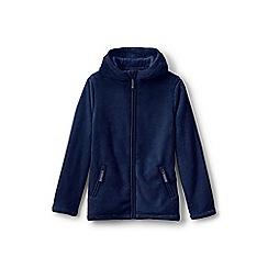 Lands' End - Girls' blue softest fleece jacket