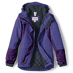 Lands' End - Blue girls' squall parka