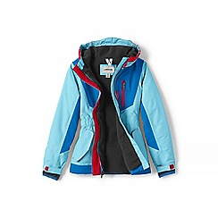 Lands' End - Girls' blue squall parka