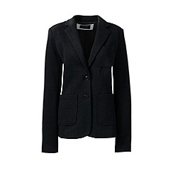 Lands' End - Grey long sleeve jacquard blazer