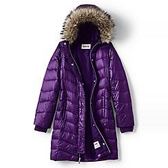 Lands' End - Purple girls' fashion down coat