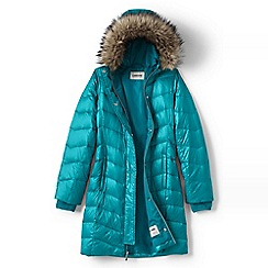 Lands' End - Blue girls' fashion down coat