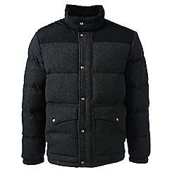 Lands' End - Grey regular hyper dry down jacket