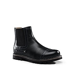 Lands' End - Black chelsea boots