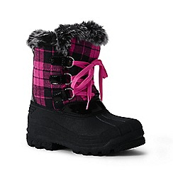 Lands' End - Pink polar snow boot