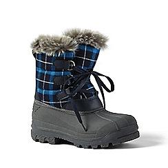Lands' End - Blue polar snow boot