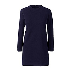 Lands' End - Blue starfish funnel neck tunic