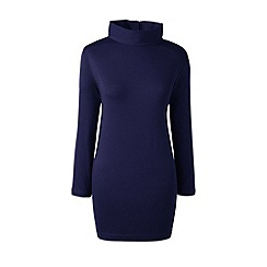 Lands' End - Blue roll neck tunic
