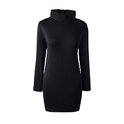 Lands' End - Black roll neck tunic