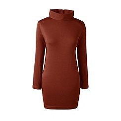 Lands' End - Brown roll neck tunic