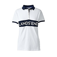 Lands' End - White signature polo 6