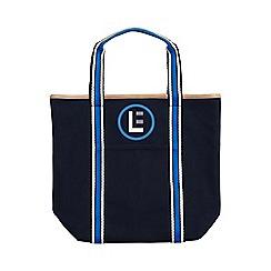 Lands' End - Blue signature medium open top tote bag