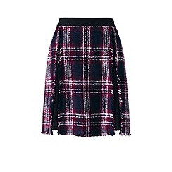 Lands' End - Black fringe panel skirt