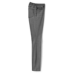 Lands' End - Grey xtra life denim pull-on black skinny jeans