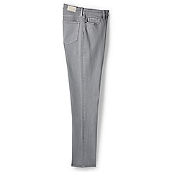 Lands' End - Grey straight leg xtra life denim jeans