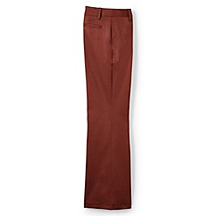 Lands' End - Brown tailored fit chinos