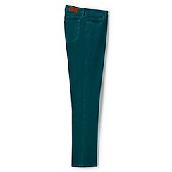 Lands' End - Green mid rise straight leg cord jeans