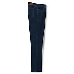 Lands' End - Blue mid rise straight leg cord jeans
