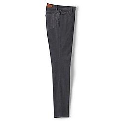 Lands' End - Grey mid rise slim leg cord jeans