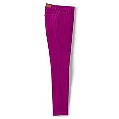 Lands' End - Pink mid rise slim leg cord jeans