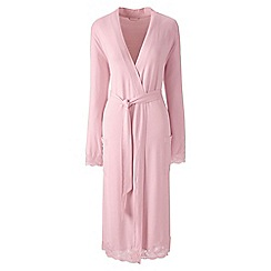 Lands' End - Pink modal dressing gown