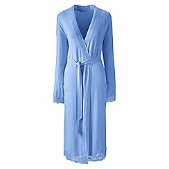 Lands' End - Blue modal dressing gown