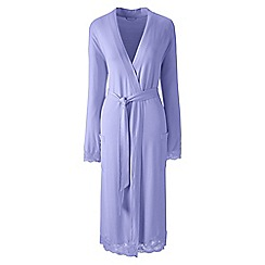 Lands' End - Purple petite modal dressing gown