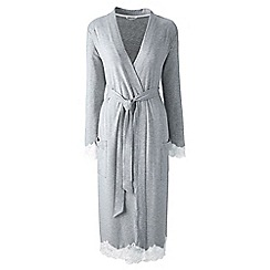 Lands' End - Grey modal dressing gown