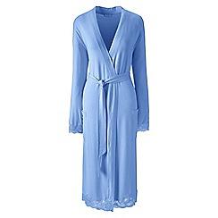 Lands' End - Blue petite modal dressing gown