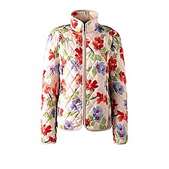 Lands' End - Multi tall primaloft patterned travel jacket