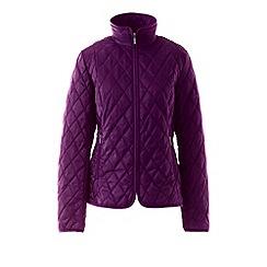 Lands' End - Purple tall primaloft travel jacket