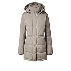 Lands' End - Beige aspen hyperdry down parka
