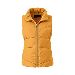 Lands' End - Orange hyperdry down gilet