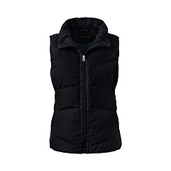 Lands' End - Black tall hyperdry down gilet