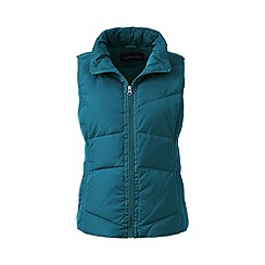Lands' End - Green tall hyperdry down gilet