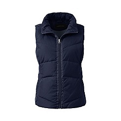 Lands' End - Blue tall hyperdry down gilet