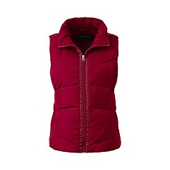 Lands' End - Pink tall hyperdry down gilet
