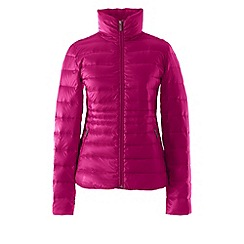 Lands' End - Pink lightweight hyperdry down jacket