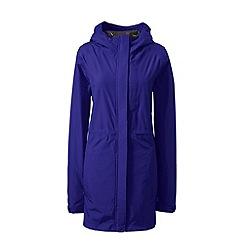 Lands' End - Purple waterproof rain parka
