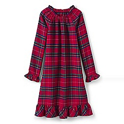 Lands' End - Girls' multi flannel nightie