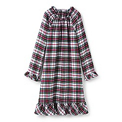 Lands' End - Girls' multi flannel nightie