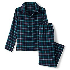 Lands' End - Multi boys' flannel pyjama set