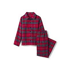 Lands' End - Boys' multi flannel pyjama set