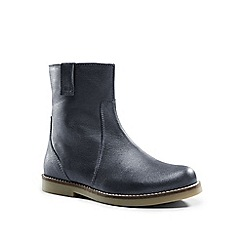 Lands' End - Metallic metallic leather boots