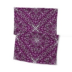 Lands' End - Pink paisley scarf