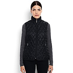 Lands' End - Black primaloft packable gilet