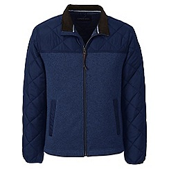 Lands' End - Blue regular quilted hybrid jacket
