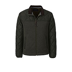Lands' End - Green regular quilted hybrid jacket